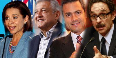El debate presidencial México 2012 en vivo.