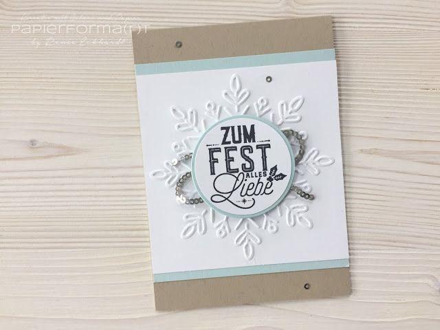 Papierforma(r)t: Weihnachtskarte