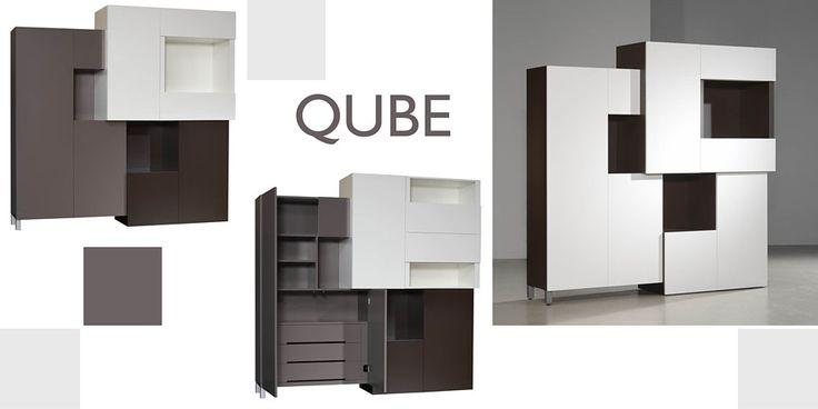 Qube kast, design: Esther Wassenaar