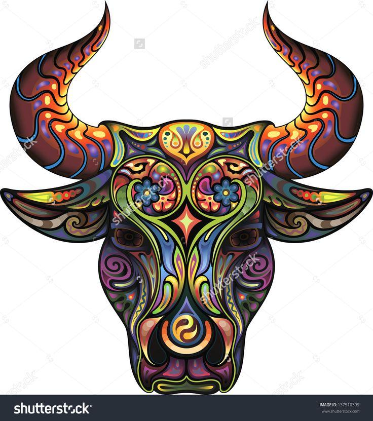 23 best Marc Allante Art images on Pinterest | Canvas ... Taurus Bull Drawing