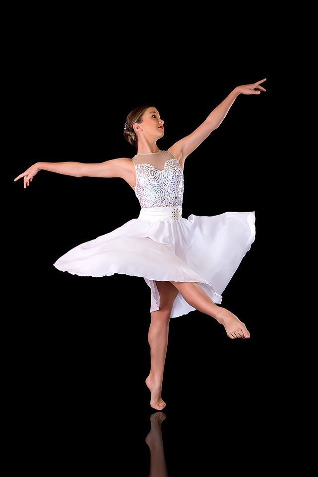 Slow Modern Dress - Shimmer Dance Costume - Lyrical Leotard U0026 Skirt Set | Dance Costumes ...
