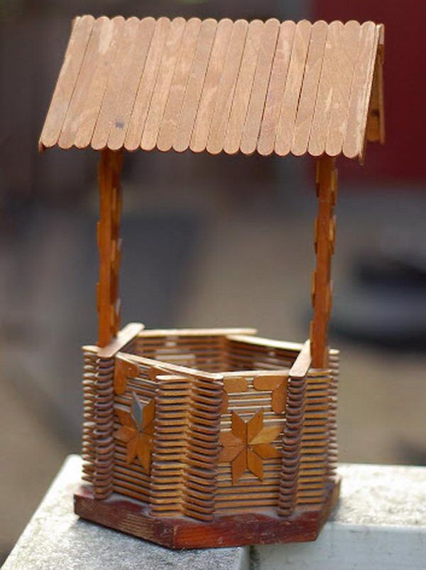 399 best popsicle stick art crafts images on pinterest for Ideas for building with popsicle sticks