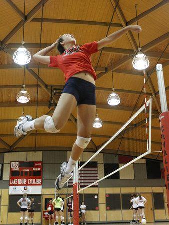 Clip Art Volleyball Girls