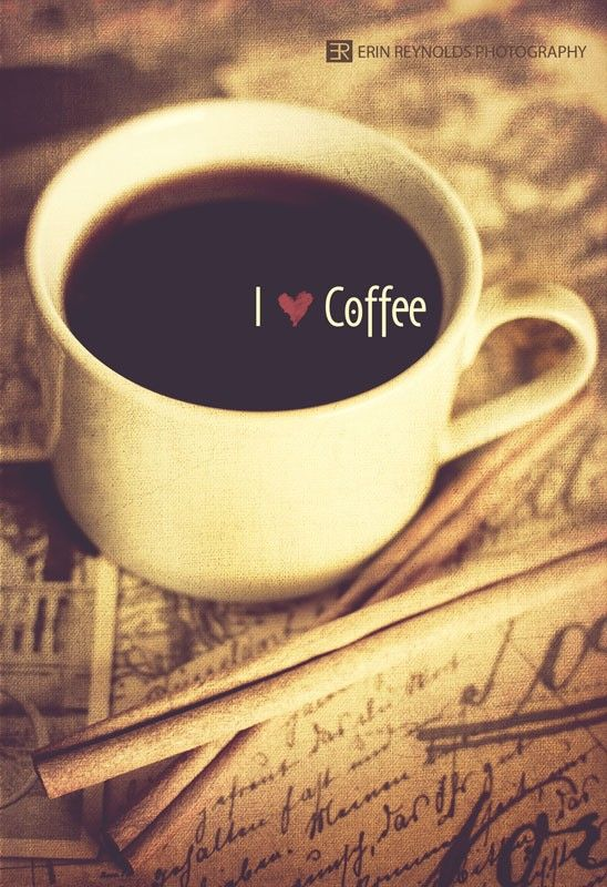 I Heart Coffee Fine Art Photography 5x7 by KaliLainePhotography, $15.00
