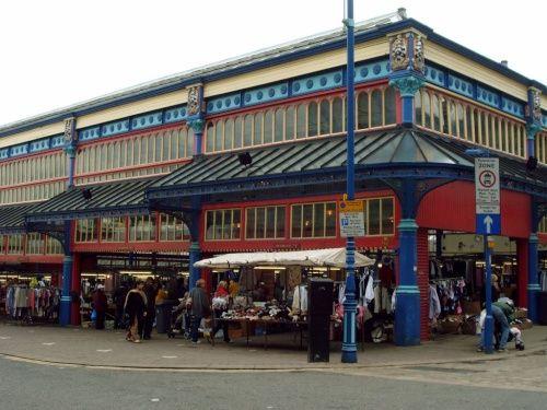 Open Market, Huddersfield.