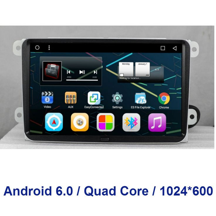 "9""1024*600  Quad Core  2 din Android 6.0 CAR DVD player  FOR Volkswagen VW Passat / Golf / Magotan / Sagitar /Caddy / Jetta /EOS"
