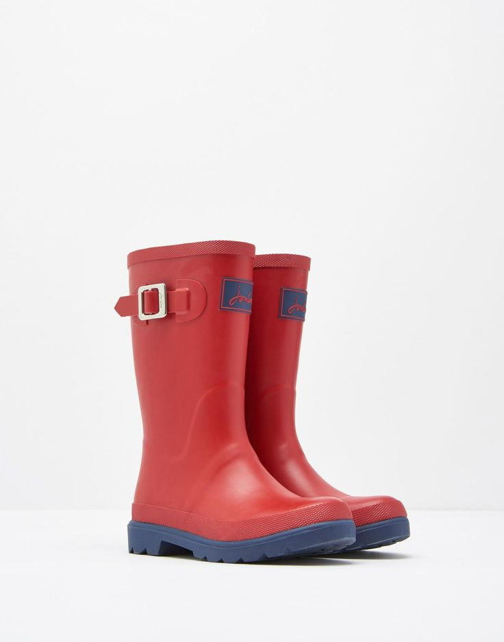 Red Wellie Boots