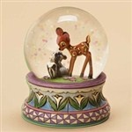 *FLOWER & BAMBI ~ Bmbi.... Blooming Friendship-Bambi Waterball from SearchPage - Jim Shore Store