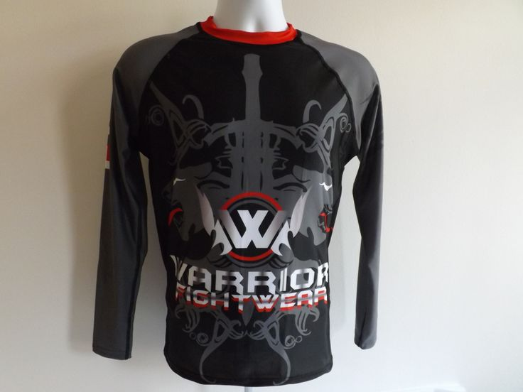 Panther long sleeve rash guard