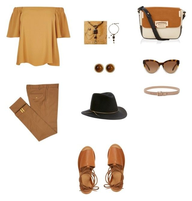 """Untitled #2112"" by jamierountree1 ❤ liked on Polyvore featuring beauty, River Island, Topshop, Accessorize, Michael Kors, Diverso, Forever 21, NOVICA, House of Harlow 1960 and Eugenia Kim"