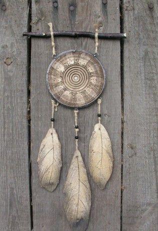 Autorská keramika a umělecký cínovaný šperk - Fotoalbum - Lapače snů - P1012069