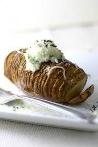 Side Dish Simple: 10 Ways to Top Your Hasselback Potatoes