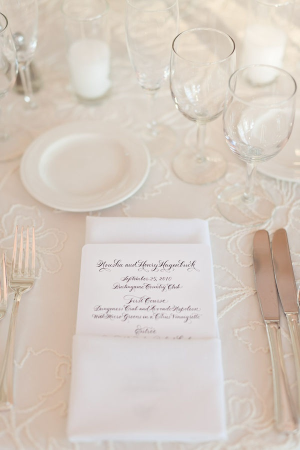 calligraphy: Tables Sets, Bride Grooms, Calligraphy Menus, Lace Tablecloths, Wedding, Menu Napkins, Tableset Ideas, Perfect Placeset, Places Sets