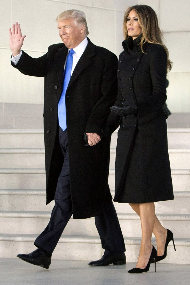 f22649181926 Frankly, I'm more concerned with Melania's bare legs. I know she wants to  be fashionable, but damn. It is December.