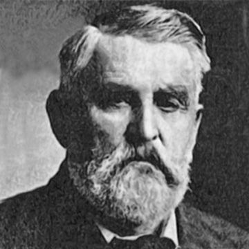 Charles Goodnight...Cattle-driver; founded the Goodnight-Loving Trail; invented the chuck wagon
