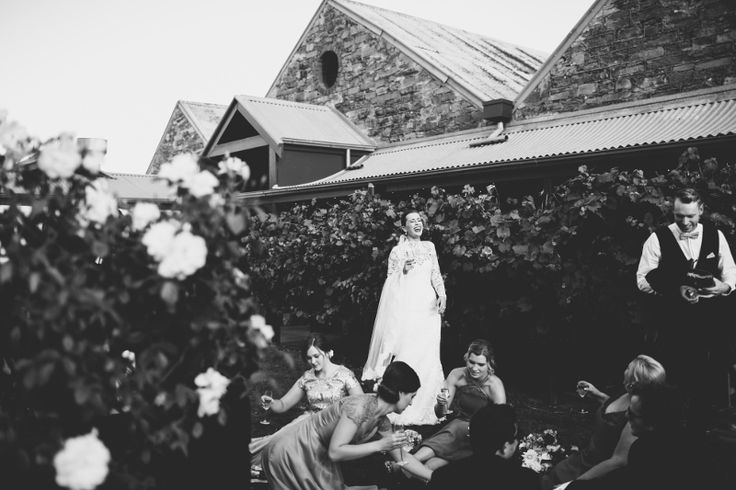 Bridal Party time out - Elspeth & Nick's Wedding @ Chateau Dore Winery by www.igotyoubabe.com.au
