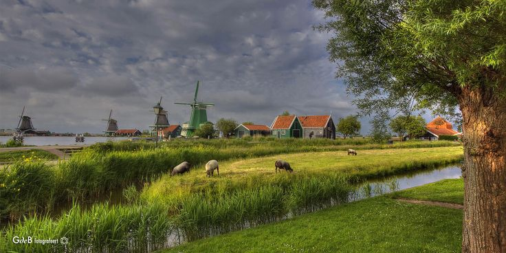 https://flic.kr/p/HoxBK5 | view on the Zaanse Schans