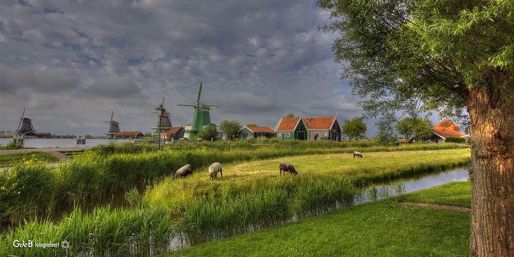 https://flic.kr/p/HoxBK5 | view on the Zaanse Schans