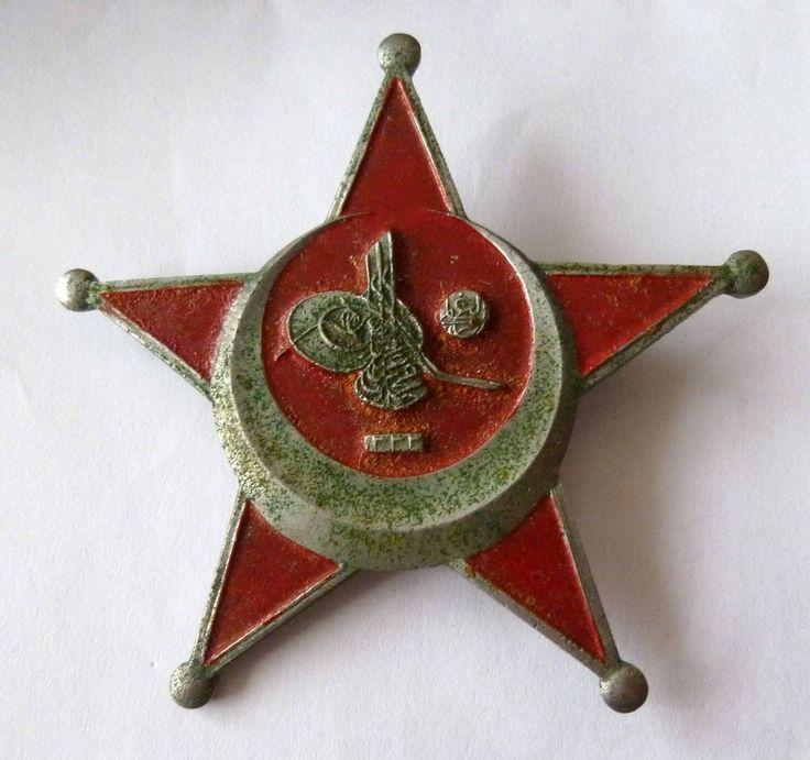 Türkei Osmanisches Reich Orden --Gallipoli Star-- Eiserner Halbmond