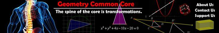 High School Mathematics - Geometry Common Core Curriculum Resources