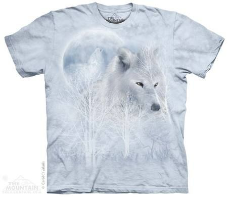 The Mountain wolf t shirt