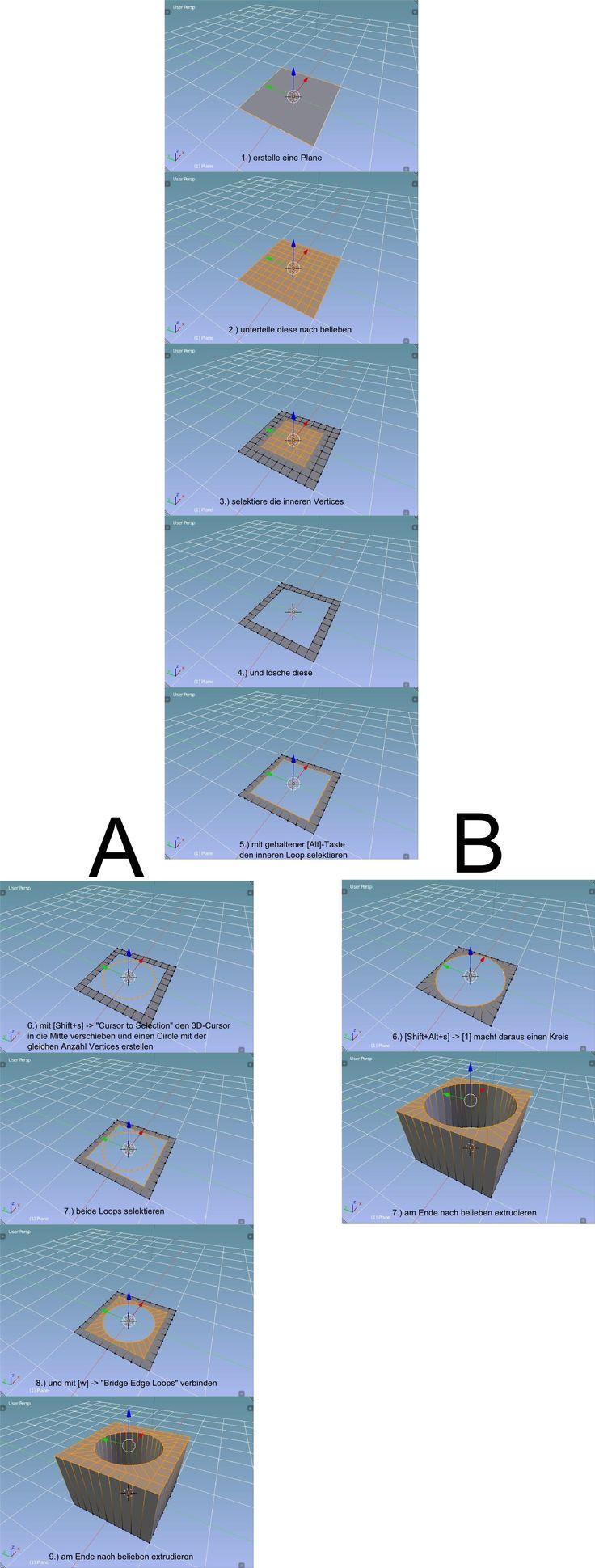 Wie mache ich ein Loch - 3D-Ring.de