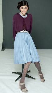 Французский стиль: Одри Тоту | Stilouette Услуги стилиста онлайн, в Германии и во Франкфурте
