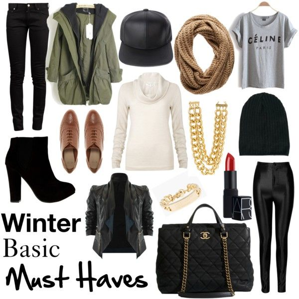 Winter basic must haves. Fashion