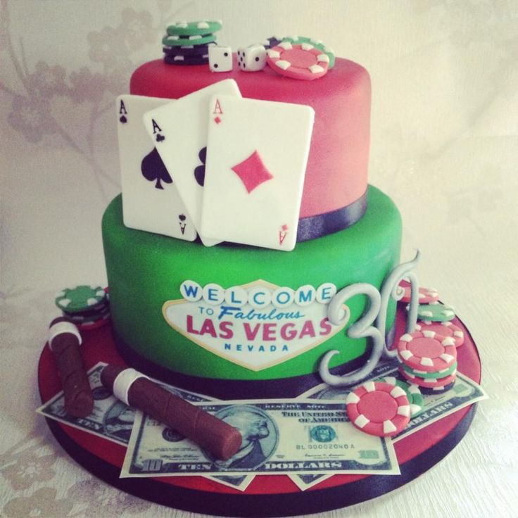 Best 25+ Las Vegas Cake Ideas On Pinterest