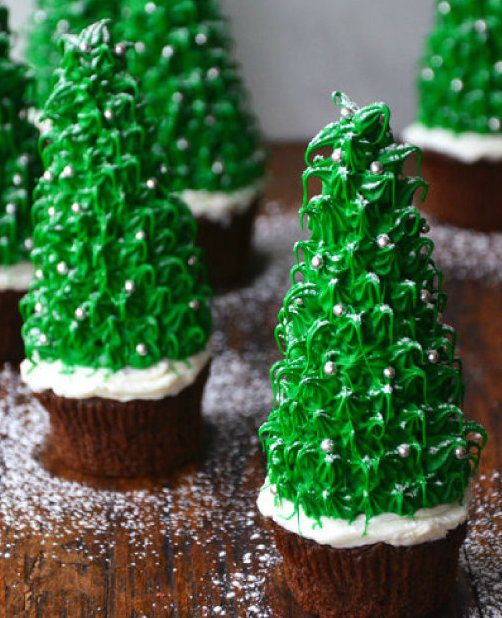 Wonderful DIY Amazing Christmas Tree Cupcake
