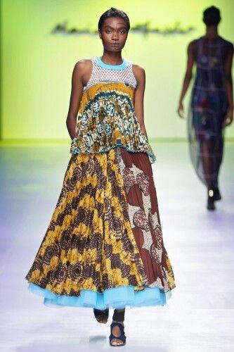 Marianne Fassler Mercedes Benz Fashion Week Cape Town SS 15/16
