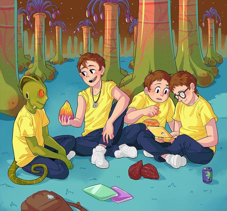 Rick and Morty x Brotherhood