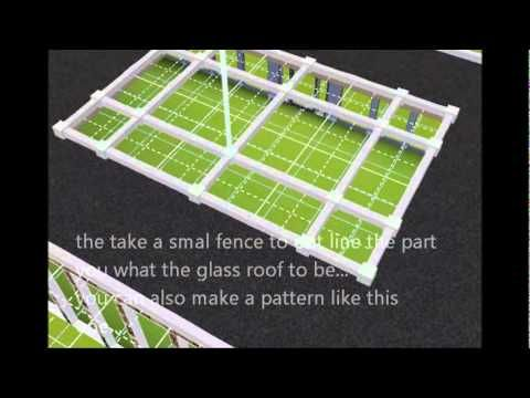 Glass Roof The Sims 3 Tutorial - above living room