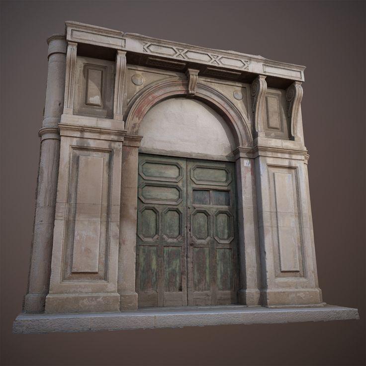 ArtStation - Photogrammetry - Old Door - High and Low Poly, Salvatore Ditrani