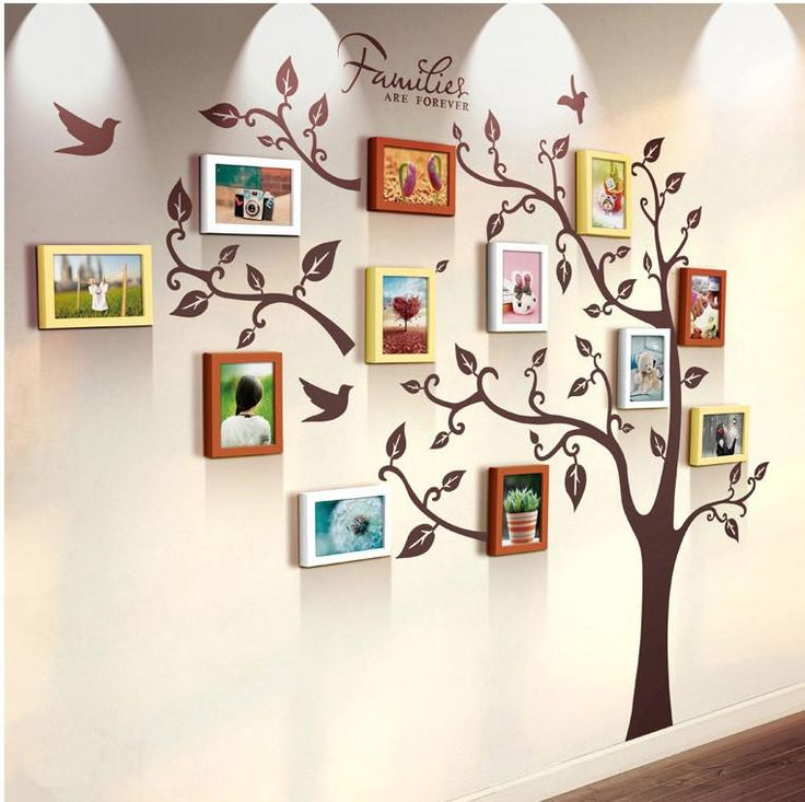 17 best ideas about family photo frames on pinterest for Cool picture frame designs