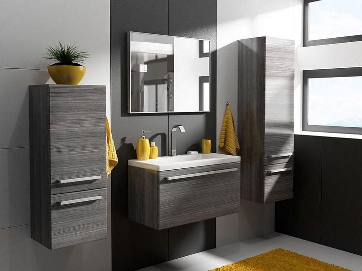 Podwieszane szafki łazienkowe
