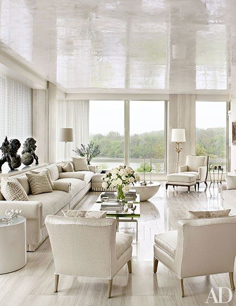 best white decor living room ideas - awesome design ideas