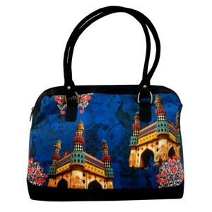 A multipurpose Bag with Char Minar Print. #mothersdaysale