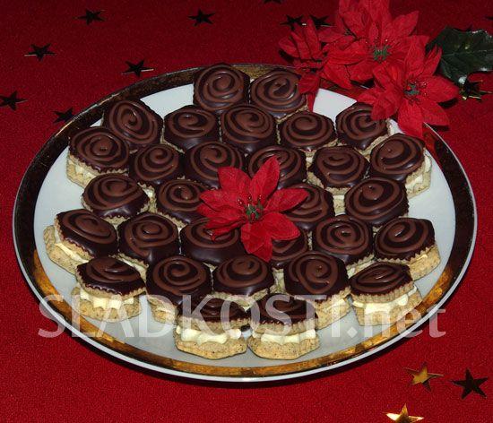 Kávové dortíčky s krémem dia