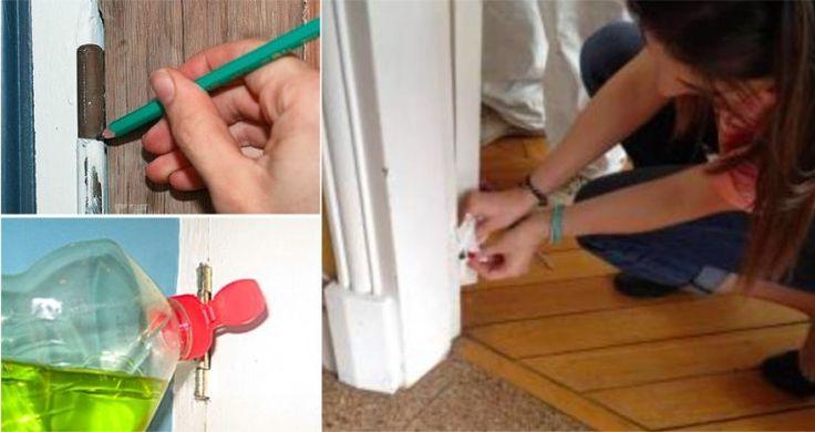 6 petites astuces pour que la porte ne grince plus