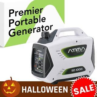 """""""Features & Benefits"""" Atima SD1000i 1000 Watt Small Quiet Portable Inverter Generator, Carb Compliant Gas-Powered for RV Camping or Home Use"""