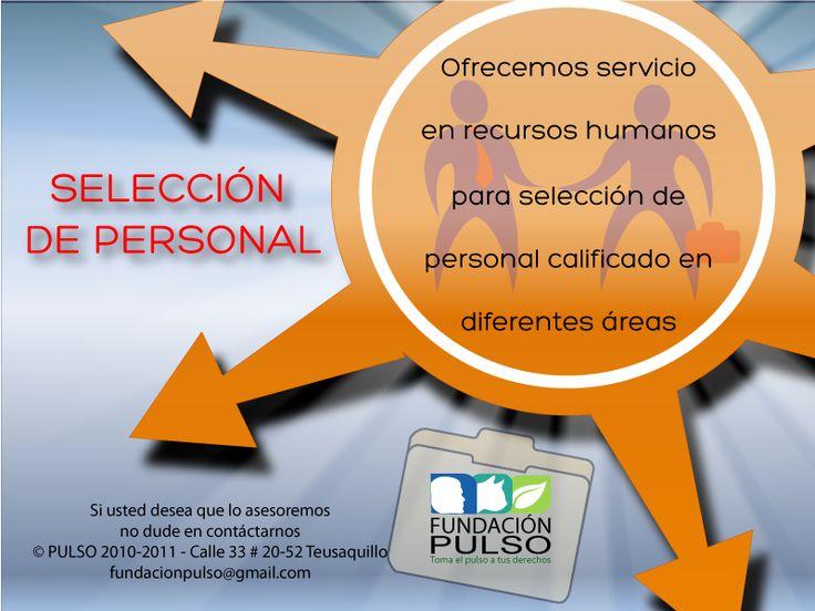 Diseño selección de personal