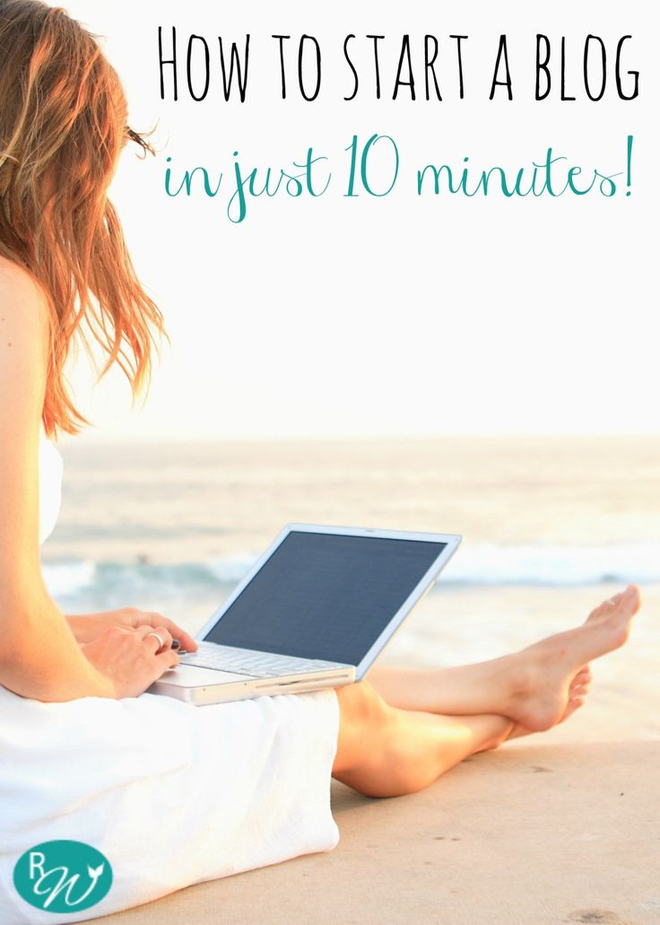 "How to start a blog in just 10 minutes! Have you been thinking of it but haven't taken the plunge yet? Do it, seriously. Hitting ""publish"" on the first post is liberating. Plus, did I mention more money now working for myself than I ever did in the corporate world? 