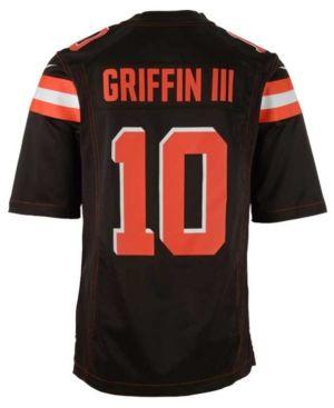 f4846262e Nike Mens Robert Griffin Iii Cleveland Browns Game Jersey - Brown M Nike  NFL Mens Washington Redskins ...