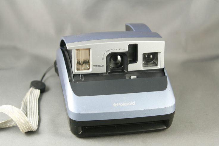 Polaroid One600 Instant Film Camera Blue SOLD