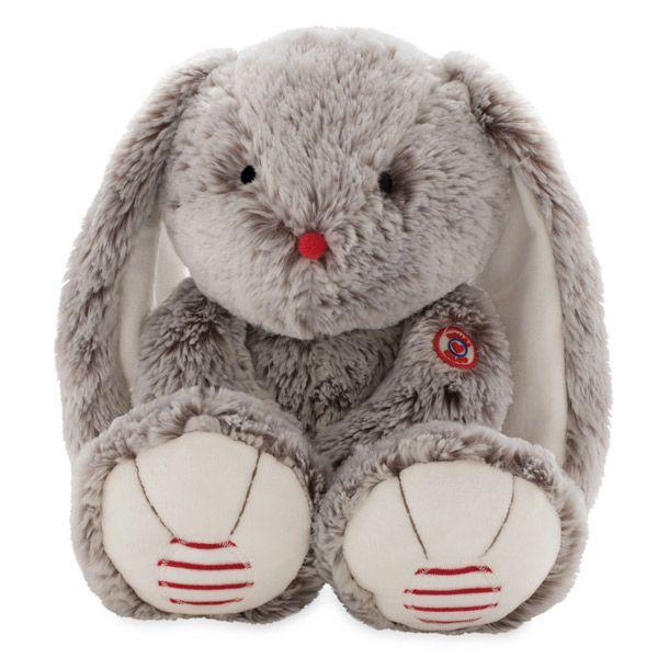 Rouge grande conejo gris 38cm