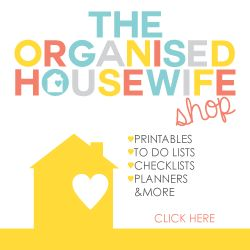 Task 1 – Declutter 52 Things in 52 Weeks Challenge : The Organised Housewife : Ideas for organising and Cleaning your home
