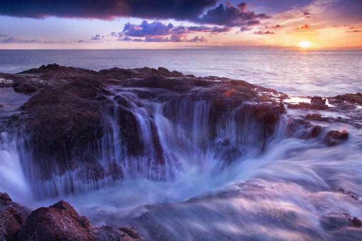 Thor's Well, Cape Perpetua, Oregon (USA) - 17 Amazing Photos taken from the air of beautiful places that will make you want to go there now!