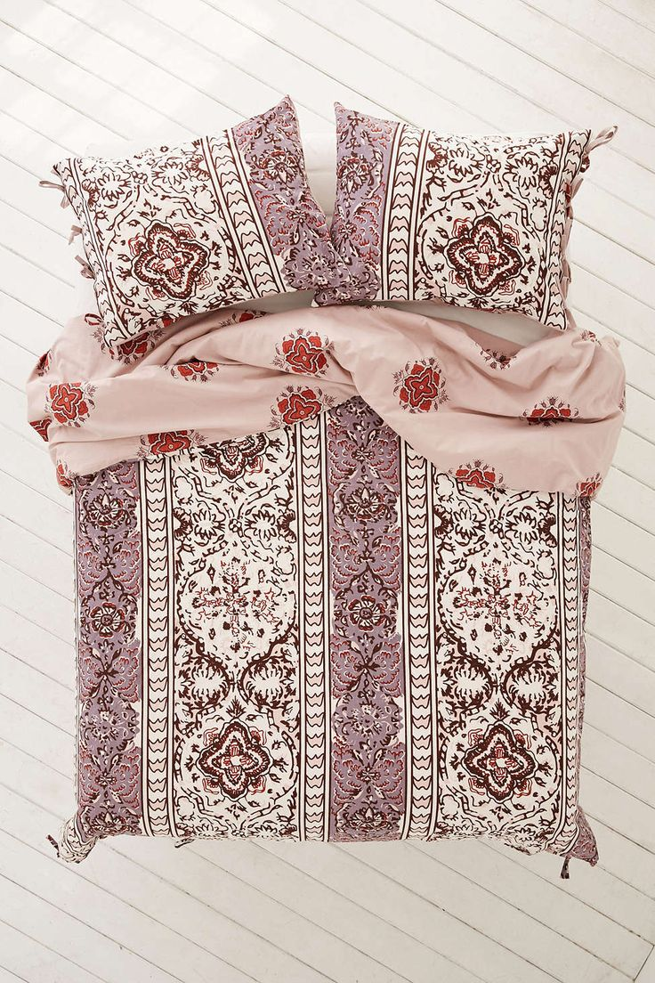 Magical Thinking Boho-Stripe Duvet Cover (by Urban Outfitters).