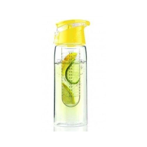 Fruit water fles | Geel -